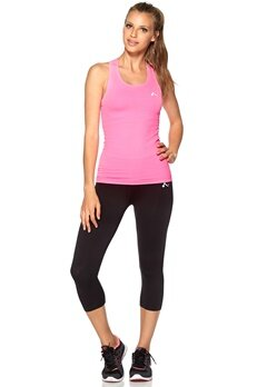ONLY PLAY Solange Seamless Tank Neon Pink Bubbleroom.dk