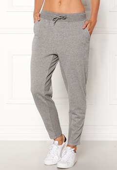 ONLY PLAY Zira glitter Sweat Pants Medium Grey silver Bubbleroom.dk