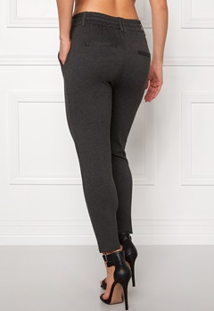 ONLY Poptrash Easy Pants Dark Grey Melange Bubbleroom.dk