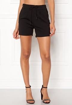 ONLY Poptrash Easy Shorts Black Bubbleroom.dk