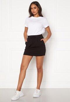 ONLY Poptrash Easy Skirt Black Bubbleroom.dk