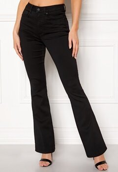 ONLY Royal High Flared Pants Black Bubbleroom.dk