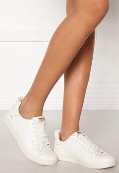 ONLY Shilo Pu Sneaker White Bubbleroom.dk