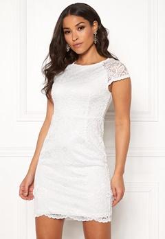 1393352bd9 ONLY Shira Lace Dress Whisper White Bubbleroom.dk