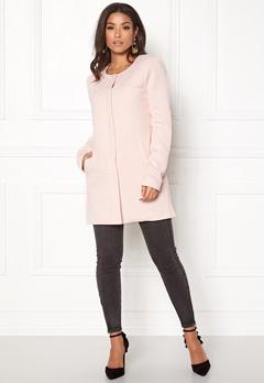 ONLY Sidney Light Coat Rose Quartz Bubbleroom.dk