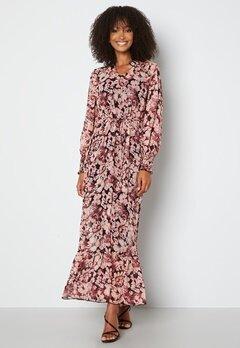 ONLY Skye L/S Ankle Dress Rose Brown bubbleroom.dk