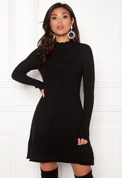 ONLY Sonia L/S Dress Black Bubbleroom.dk