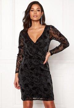 ONLY Tayla L/S Dress Black Bubbleroom.dk