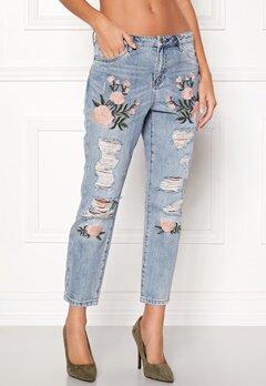 ONLY Tonni Jeans Light Blue Denim Bubbleroom.dk