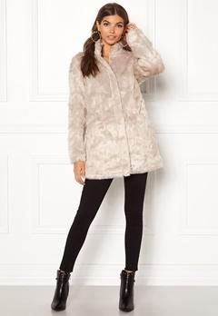 ONLY Viva Fur Coat Pure Cashmere Bubbleroom.dk