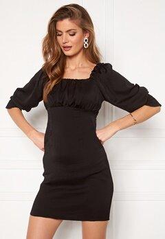 ONLY Vivi Short String Dress Black Bubbleroom.dk
