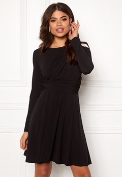 ONLY Xenia L/S Dress Black Bubbleroom.dk