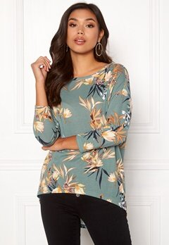 ONLY Elcos 4/5 Top Chinois Green Bubbleroom.dk