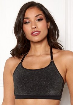 ONLY PLAY Sparkle Seamless Bra Black Bubbleroom.dk