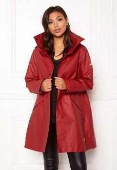 Odd Molly Outstanding Rainjacket Deep Red Bubbleroom.dk