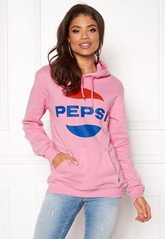 Pepsi Sweet Pepsi Logo Hoodie Pink Bubbleroom.dk