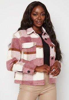 VERO MODA Pernille Short Jacket Mesa Rose Checks Bubbleroom.dk