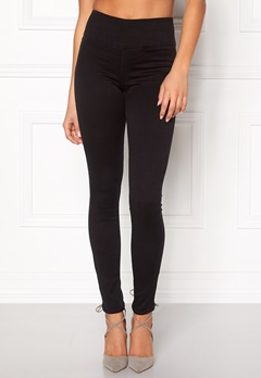 Pieces Betty High Waist Jeggings Black Bubbleroom.dk
