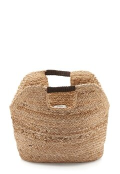 Pieces Charlie Straw Bag Nature Bubbleroom.dk