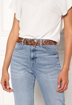 Pieces Cynlee Leather Jeans Belt Cognac Bubbleroom.dk