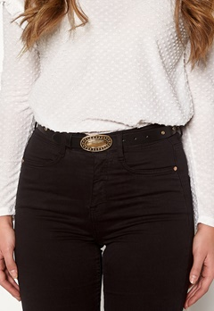 Pieces Dalena Waist Belt Black/Gold Bubbleroom.dk