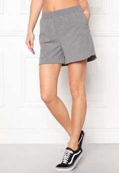 Pieces Donni Shorts Light Grey Melange Bubbleroom.dk