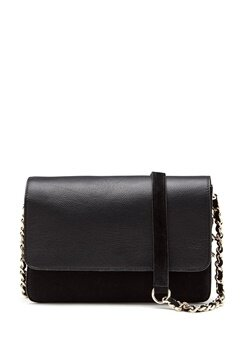 Pieces Felicity Suede Cross Body Black Bubbleroom.dk