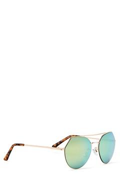 Pieces Gili Sunglasses Rose Gold Colour Bubbleroom.dk