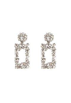 Pieces Janet Earrings Silver Colour Bubbleroom.dk
