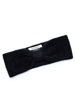 Pieces Josefine Wool Headband Black Bubbleroom.dk