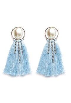 Pieces Mabelle Earrings Silver Colour Bubbleroom.dk