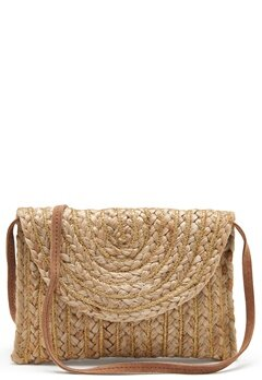 Pieces Mecky Straw Cross Body Nature Bubbleroom.dk