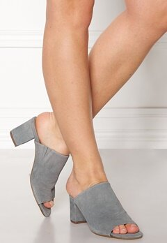 Pieces Mela Suede Shoes Grey Bubbleroom.dk