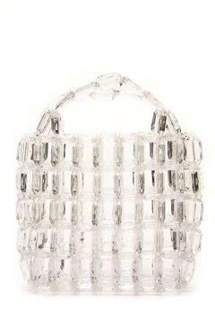 Pieces Milka Pearl Bag Bright White Bubbleroom.dk