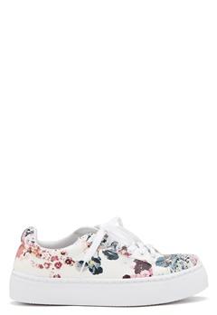 Pieces Moa Flower Sneaker White Bubbleroom.dk