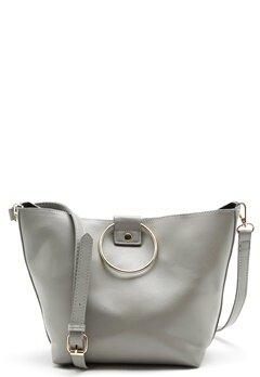 Pieces Naomi Bag Light Grey Melange Bubbleroom.dk