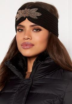 Pieces Sanja Wool Headband Black Bubbleroom.dk