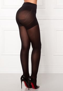 Pieces Shaper 40 den tights Black Bubbleroom.dk