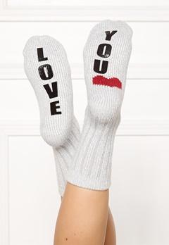 PJ. Salvage Fun Socks Heather Grey Bubbleroom.dk