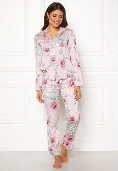 PJ. Salvage PJ Pyjama Set Pale Pink Bubbleroom.dk