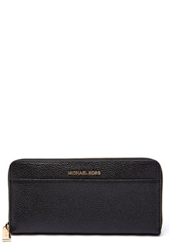 Michael Michael Kors Pocket Zip Around Wallet 001 Black Bubbleroom.dk