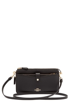 COACH Polished Pebble Bag Black Bubbleroom.dk