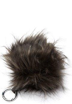 ROCKANDBLUE Pom Pom Charm Faux Fur 8370 Greyish/Silver Bubbleroom.dk