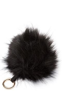 ROCKANDBLUE Pom Pom Charm Faux Fur 8990 Black/Gold Bubbleroom.dk