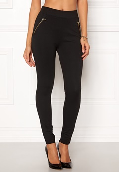 New Look Ponte Zip Leggings 1 Bubbleroom.dk