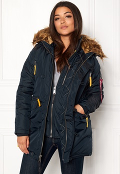 Alpha Industries PPS N3B Wmn Jacket Rep Blue Bubbleroom.dk