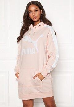 PUMA Classic T7 Hooded Dress Pink Bubbleroom.dk