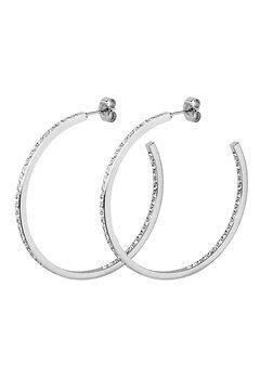 Dyrberg/Kern Quinne Crystal Earrings Silver Bubbleroom.dk