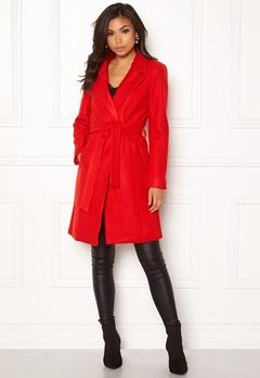 ONLY Rachel Wool Coat Goji Berry Bubbleroom.dk