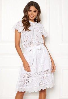 Ravn Sonny Dress White Bubbleroom.dk